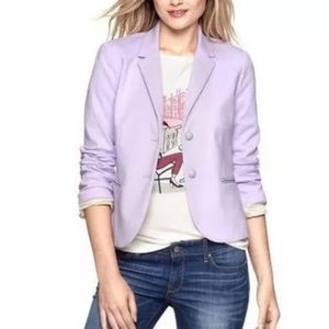 Gap The Academy Blazer In Lilac.-X10.